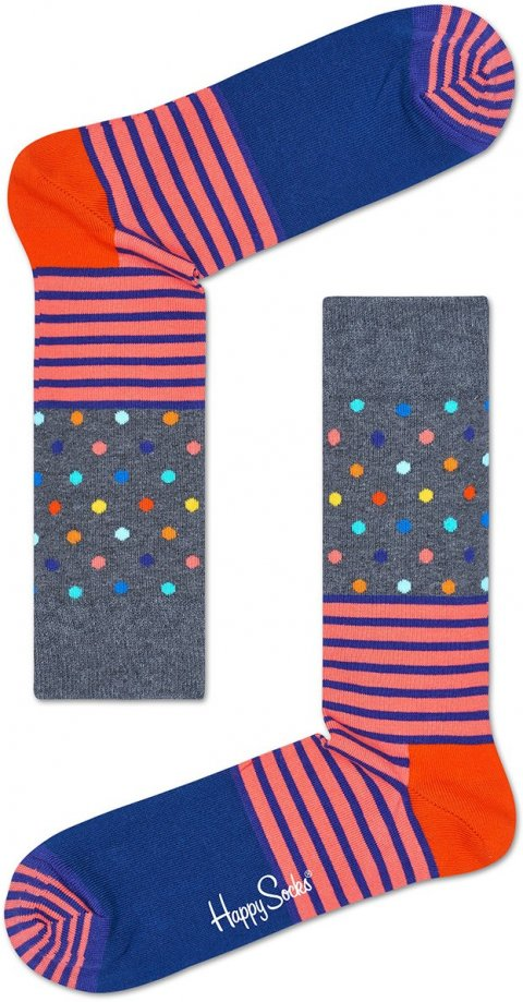 Happy Socks - Ponožky Stripes & Dots
