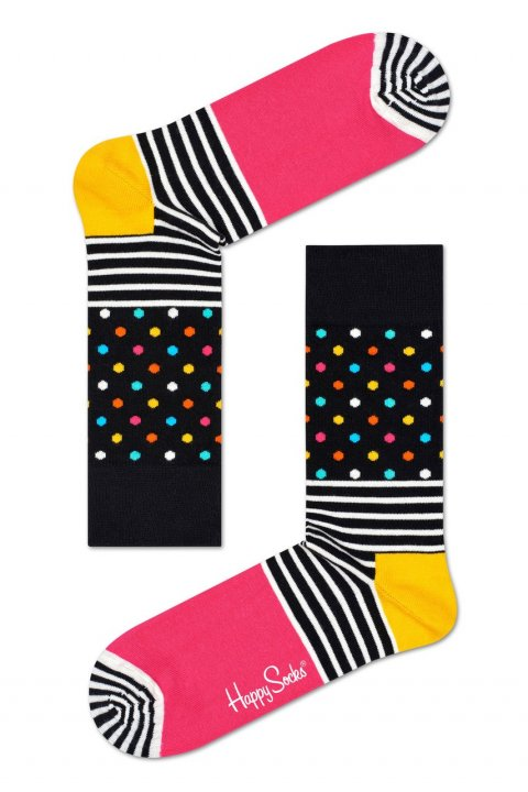 Happy Socks - Ponožky Stripe&Dots
