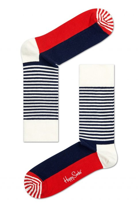 Happy Socks - Ponožky Half Stripe