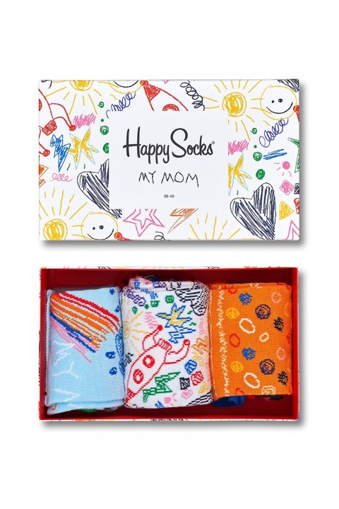 Happy Socks - Ponožky Mothers Day Gift Box (3-pak)