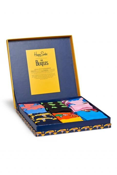 Happy Socks - Ponožky The Beatles Collector (6-pack)
