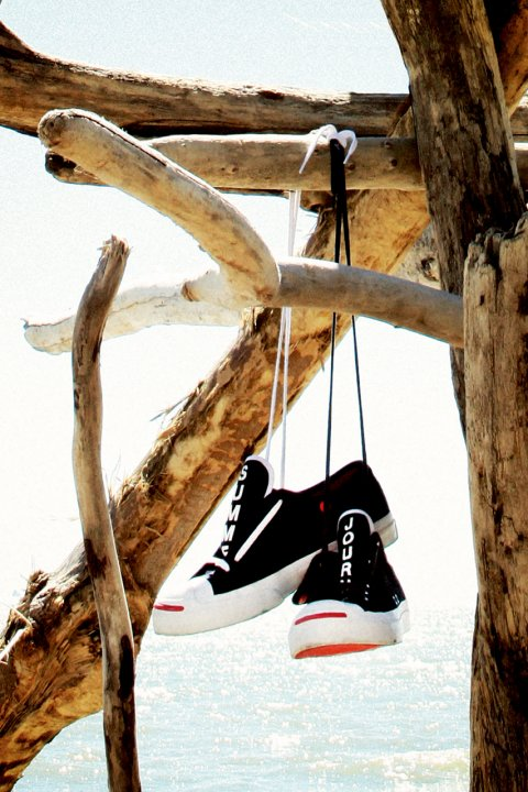 "Limitovaná edice tenisek Slam Jam / Converse First String Jack Purcell ""Summer Journey"""